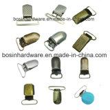 Clip della bretella della tettarella del metallo del hardware