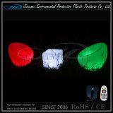 Цвет PE материальный пластичный изменяя перезаряжаемые место запятого СИД