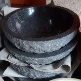 씻기 룸을%s 자연적인 화강암 그리고 대리석 둥근 수채