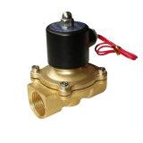 Serie de la válvula electromagnética 2W 2/2 válvula industrial de actuación directa de la manera