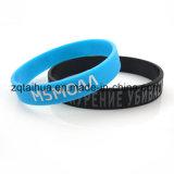 Konkurrenzfähigem Preis Twist-Gummiband-Silikon-Armband Benutzerdefinierte Silikon-Armband