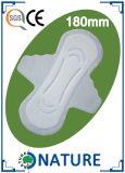 180ミリメートル新しいコットンレディ生理用ナプキン
