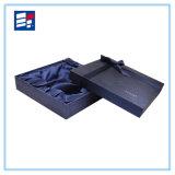 Caja de regalo de encargo negra magnética magnífica de encargo de la empaquetado