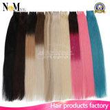 Schöne Produkt-Förderung-preiswerter Band-Haar Extenisons Remy Band-starke Haut-Einschlagfaden