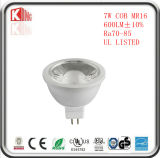 L'alta qualità 7W 630lm MR16 LED Dimmable 12V illumina le lampade