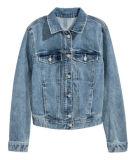 Женщин джинсовой ткани простирания Cotton&Polyester куртка супер