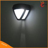 2 Lamp van de LEIDENE de OpenluchtOmheining van de Zonne-energie Zonne, het ZonneLicht van de Muur van de Tuin Lichte, Zonne