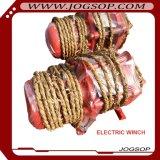 El cargo de elevación trabaja a máquina el torno eléctrico de 3 toneladas