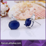 Boucles d'oreille de goujon de vente en gros d'usine de bijou de la Chine