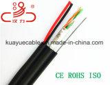 Кабель Lancable Utpcat5e 2power сиамский для кабеля аудиоего разъема кабеля связи кабеля данным по кабеля сети Cable&DVR/Computer