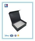 Caixa de empacotamento modelo luxuosa feita sob encomenda do livro de papel para doces
