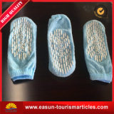 Hotel-Socken mit Firmenzeichen des blauen Farben$-Abnehmers