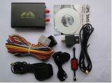 Automobile GPS GSM GPRS della fascia del quadrato di Gpstracker Tk105A del veicolo che segue il sistema dell'impianto antifurto di obbligazione dell'automobile delle unità