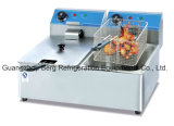 Freidor de gas de acero inoxidable de alta calidad comercial con Ce
