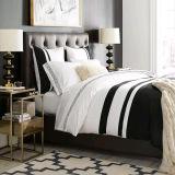 Вышитые комплекты постельных принадлежностей гостиницы в хлопке 100% египетском (DPF1050)