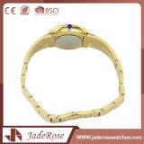 Reloj clásico del cuarzo de la época de la mujer de Sutus del acero inoxidable del estilo