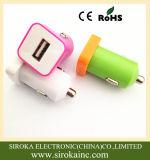 2つの二重USBポートを持つ1匹の車の充電器に付き熱い販売の2匹