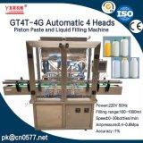 4 arachides automatiques de têtes mettant la machine en bouteille de remplissage (GT4T-4G1000)
