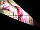 (PStrip17-21) Haute qualité Jacquard en soie tissée, cravate en polyester Cravate pour hommes