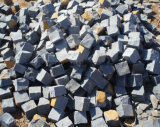 Black Basalt Trumbled Bricks, Blocks, Pavers