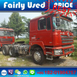 De gebruikte Vrachtwagen van de Tractor van Shacman F3000 6X4 van de Vrachtwagen van de Tractor (de uitvoer van de Agent gebruikte op zwaar werk berekende vrachtwagen)