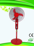 16 pouces AC110V Stand Fan Red Big Timer (SB-S-AC16O)