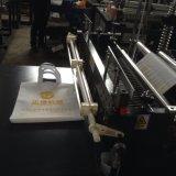 Umweltfreundlicher flacher Griff-Beutel, der Maschine Zxl-D700 herstellt