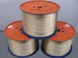 mangueira tecida de aço revestida da indústria de carvão do fio do bronze de 0.28mm