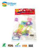Gomma popolare ed elastico personalizzato promozionale del silicone con buona elasticità