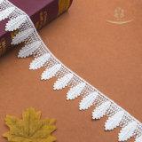 Il testo fisso del merletto della nappa del Hemline del pannello esterno progetta il merletto per il cliente decorativo alla moda