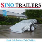 Australian Single Axle Box Trailer with Tilting Funtion