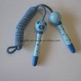 Kind-Leibeserziehung-Übungs-Spielzeug-Sprung-Seil mit Gummigriff