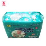 Tecido quente da venda do bebê descartável absorvente super do fabricante de China