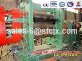 Macchina di calandratura di plastica di gomma di certificazione del Ce, calendario della gomma dei tre rulli