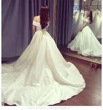 2017着の最新のテュルの夜会服のウェディングドレス6831