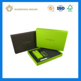 Cadre de empaquetage estampé polychrome de carton de qualité de papier de cadeau rigide de parfum (avec le plateau de mousse)