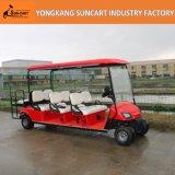 赤8のシートの販売のための電気観光のゴルフ車