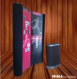 3X2 Curvy Shape Pop up Stand avec impression en PVC (PU-04-A)