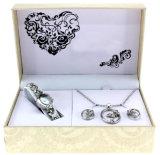 Conjunto del regalo de la combinación del collar del reloj