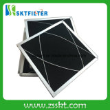 Filtro attivato dalla spugna della gomma piuma del carbonio con il blocco per grafici di alluminio
