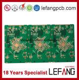 PWB da placa de circuito da eletrônica automotriz do dedo do ouro de 1.6mm 4layers OSP Fr4