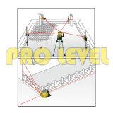 Automatisches Nivellierengrüne Drehlaser-Stufe (SRE-302G)