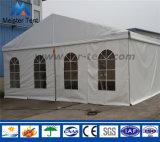 卒業パーティーのためのPVCカバーMaequeeの白いテント