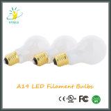 A19/60 LED Licht der Birnen-warmes weißen Lampen-LED