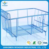 Nano Metallic Candy Chrome Blue Powder Coating for Racks