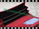 Бумажник рамки металла повелительниц муфты PU