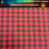 1 проверка Ginham полиэфира Cm, ткань куртки проверки Twill полиэфира покрашенная Tarn (YD1170)