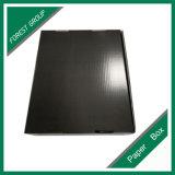 Cadre ondulé de belle impression faite sur commande ondulée noire de cadre pour des chaussures