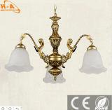 2017 de Nieuwe Mooie Lamp van de Tegenhanger van het Frame van het Brons Warme Witte