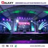 P2.976/P3.91/P4.81 visualización de pared video de interior a todo color del alquiler LED con la cabina de 500mm*500m m para los acontecimientos